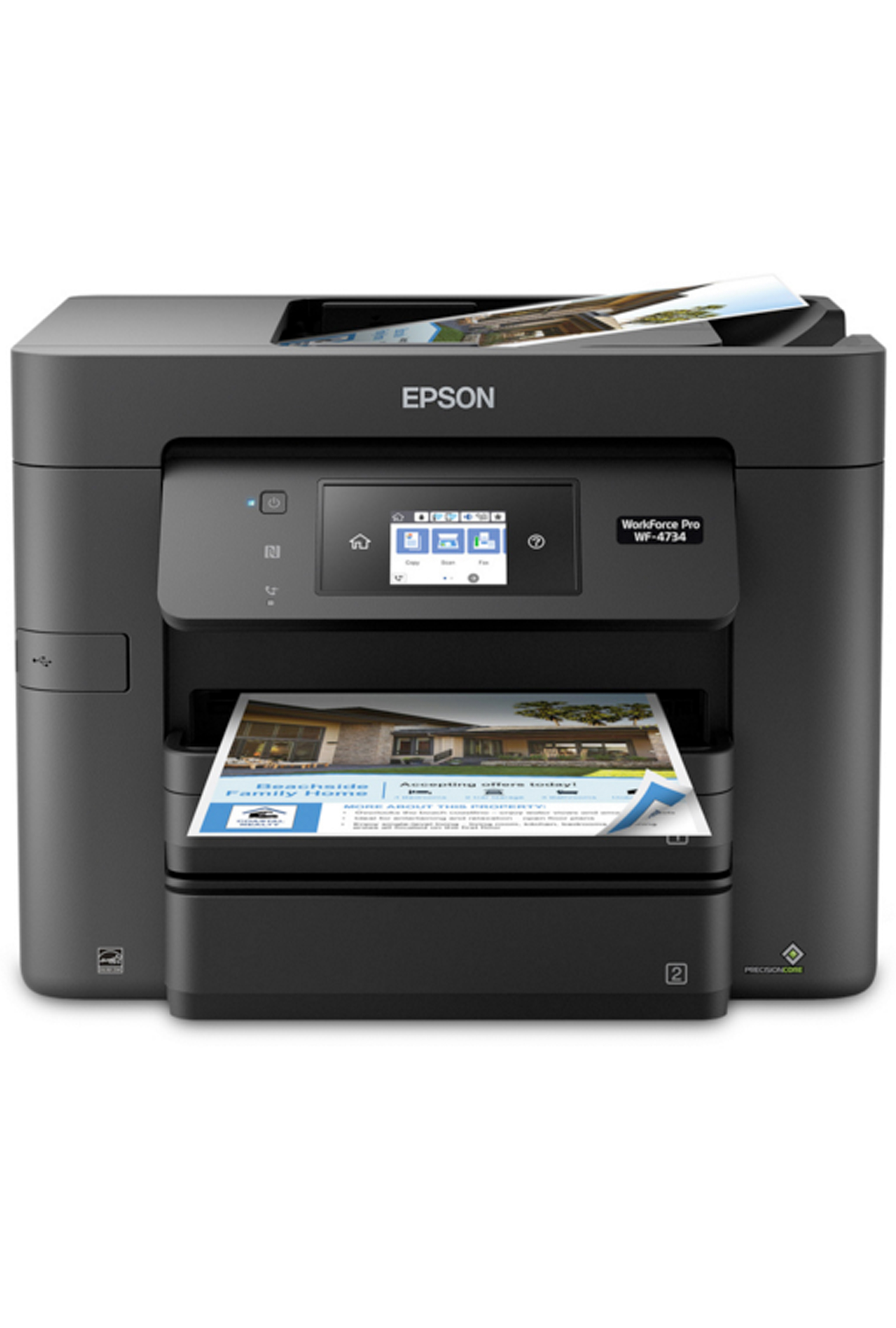Epson WorkForce Pro WF-4740 All-in-One Printer (24/22ppm)