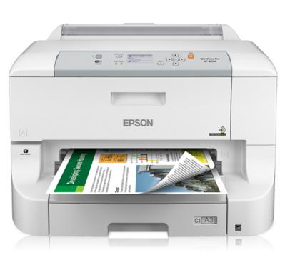 Epson WorkForce Pro WF-8090 Network Color Printer w/...