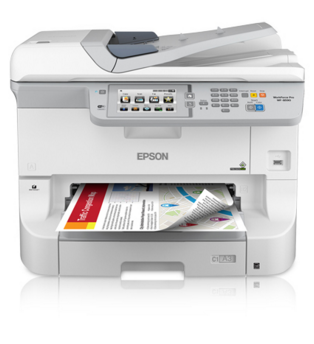 Epson WorkForce Pro WF-8590 Network Multifunction Color...