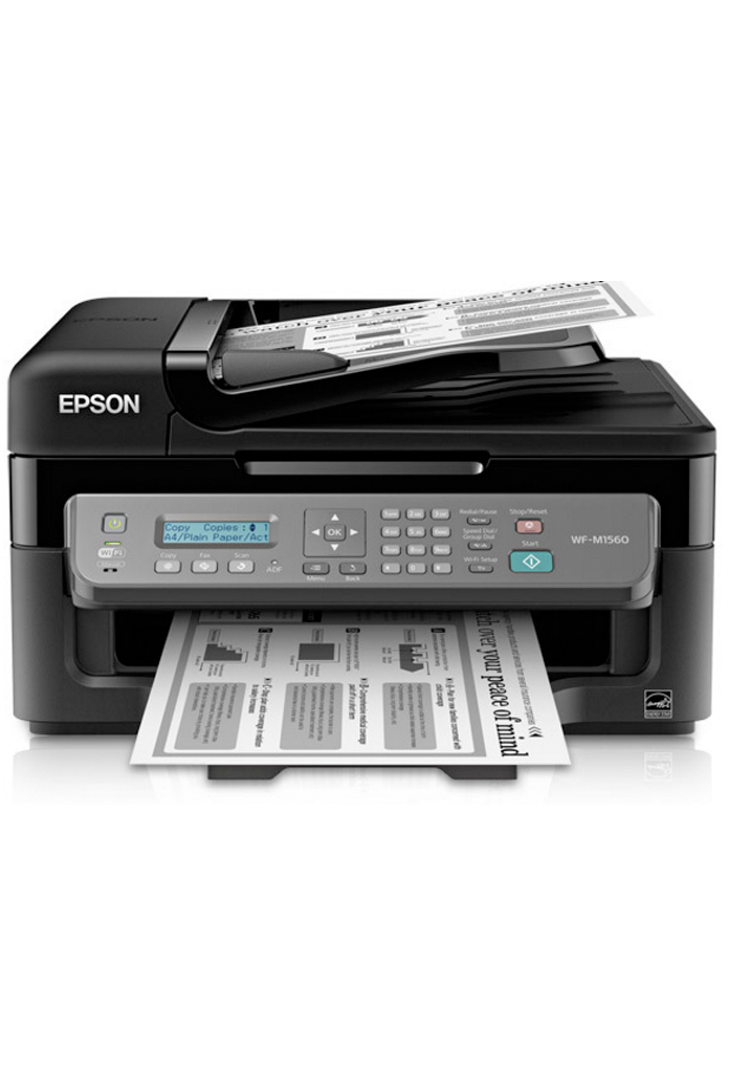 Epson WorkForce WF-M1560 Monochrome Multifunction Printer (34ppm)