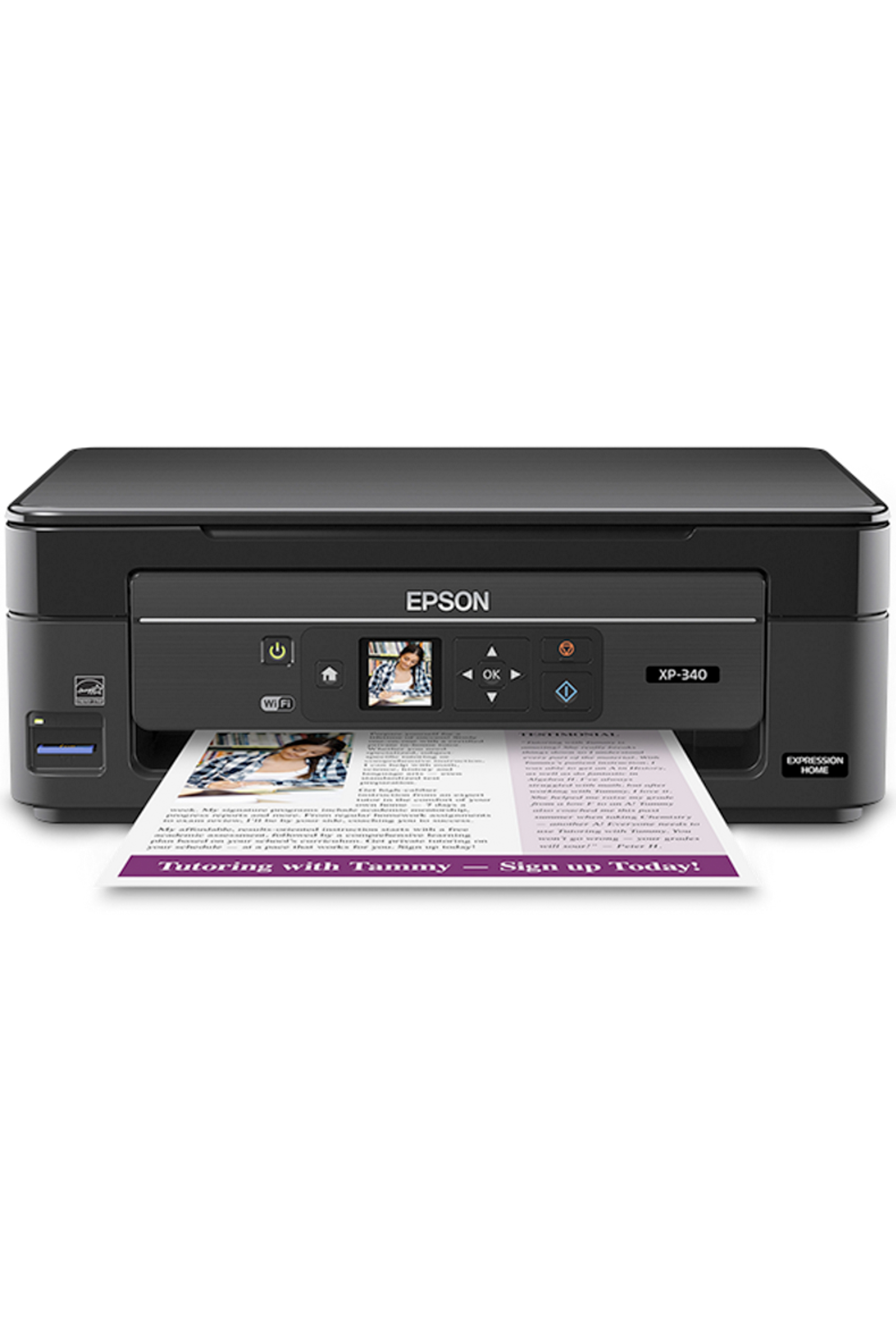 Epson Expression Home XP-340 Small-in-One All-in-One Printer...