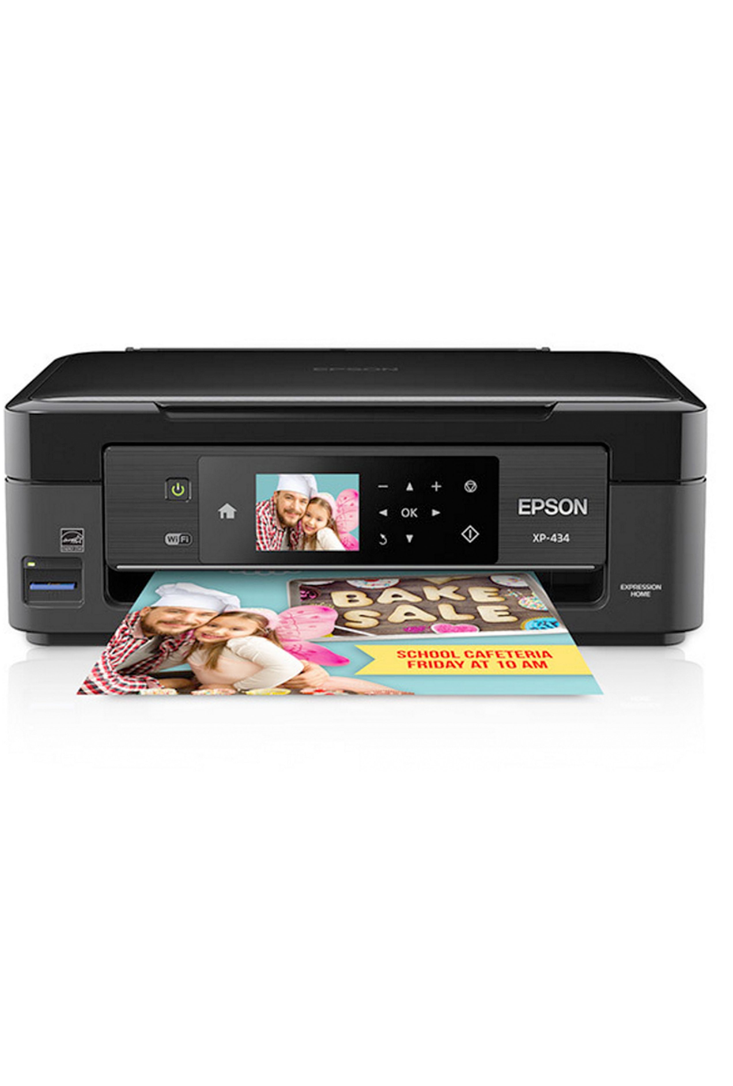 Epson Expression Home XP-434 Small-in-One All-in-One Printer...