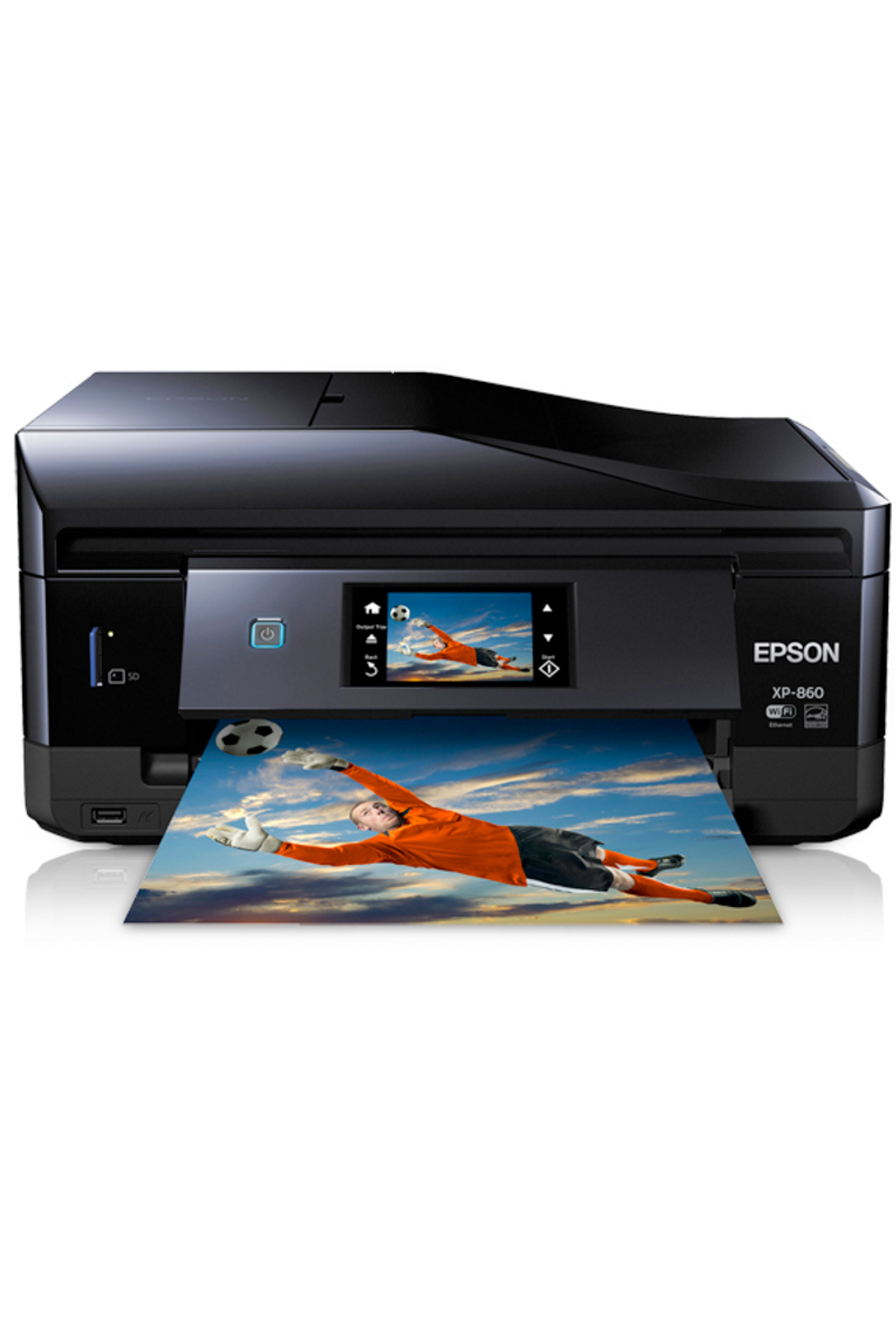 Epson Expression Photo XP-860 Small-in-One All-in-One Printer...