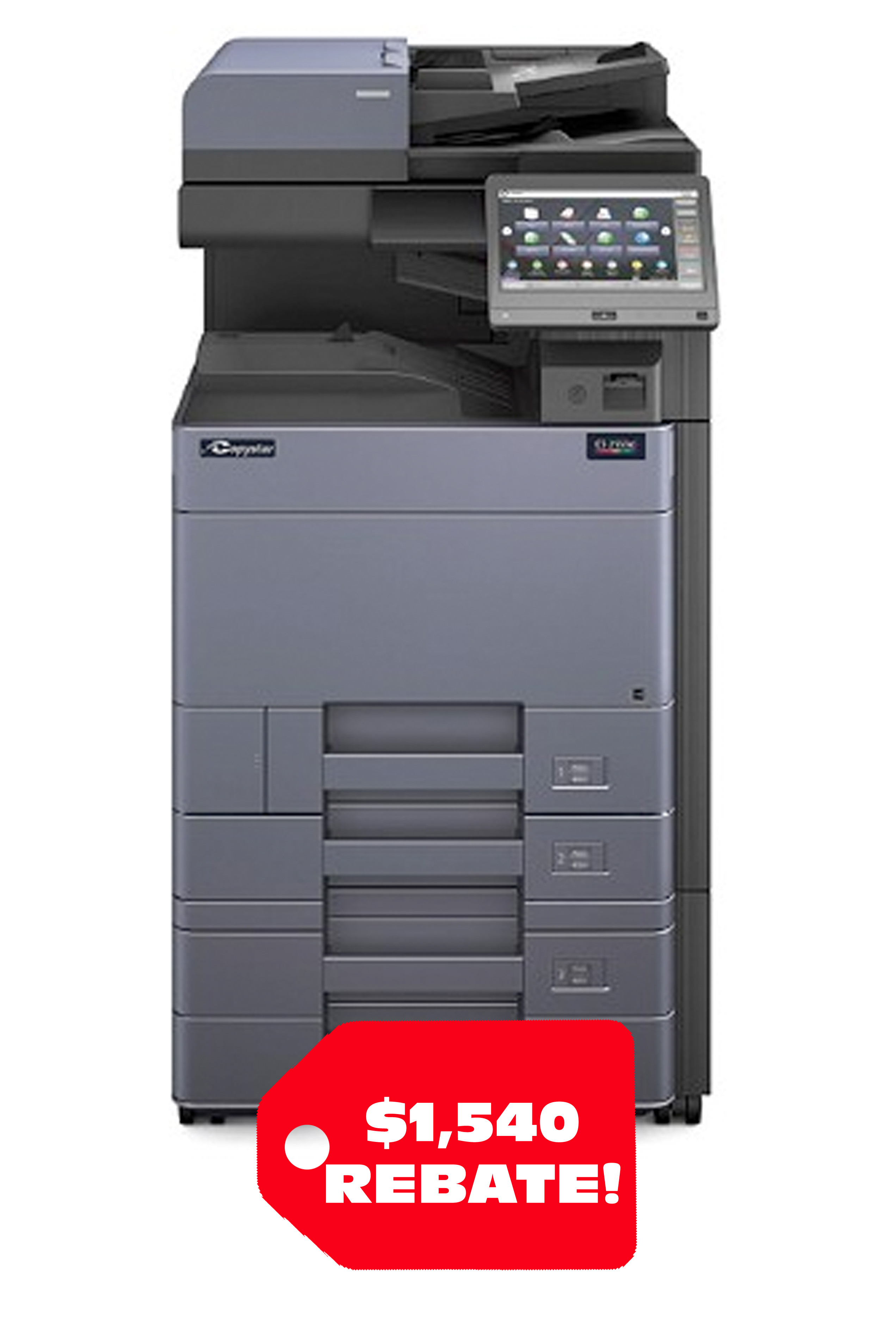 Copystar COPYSTAR CS 2553CI A3 COLOR MFP (25ppm) PACKAGE 1