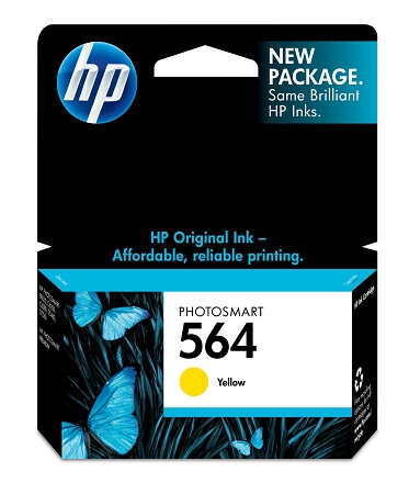 HP 564 (CB320WN) Yellow Original...