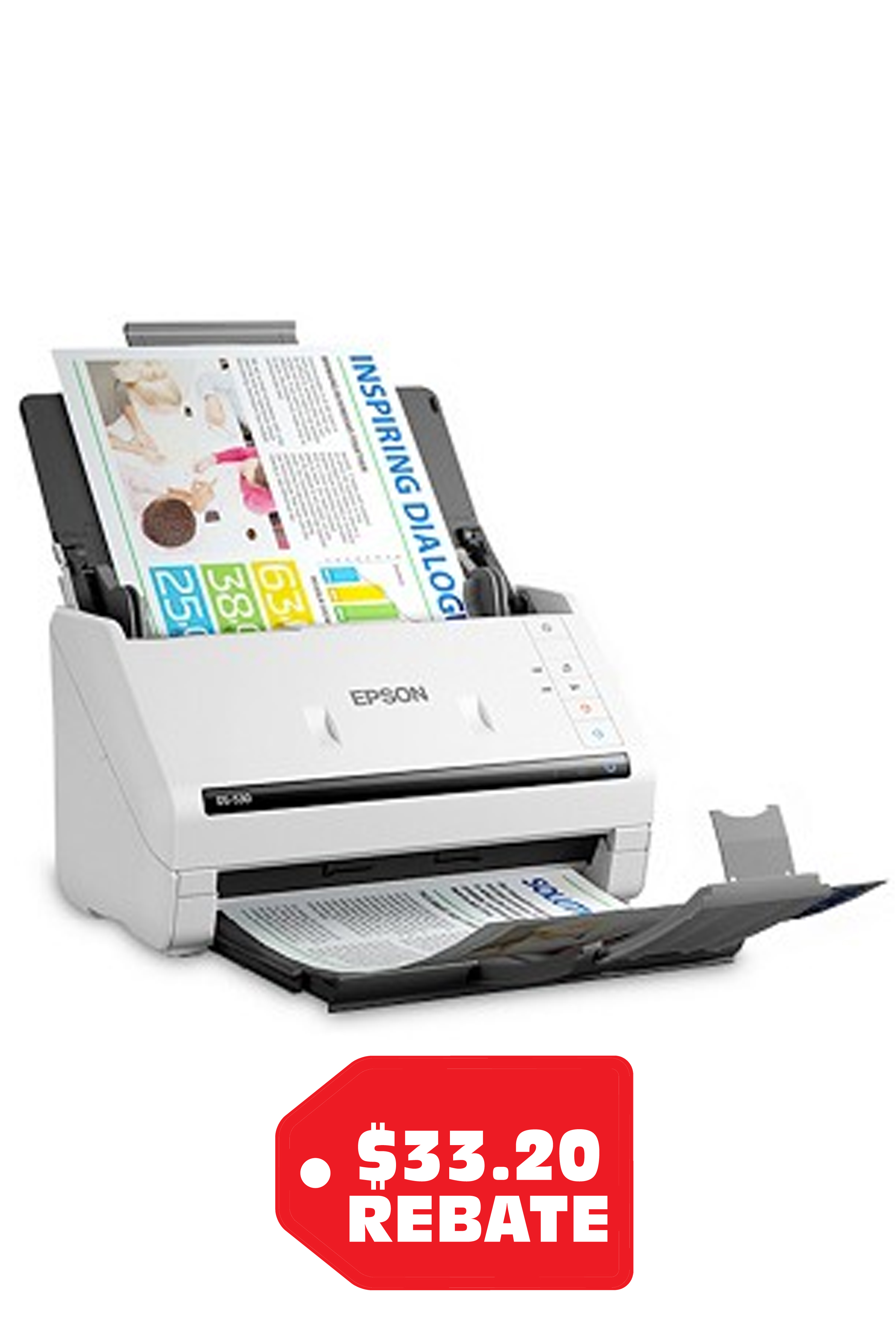 Epson DS-530 Color Duplex...