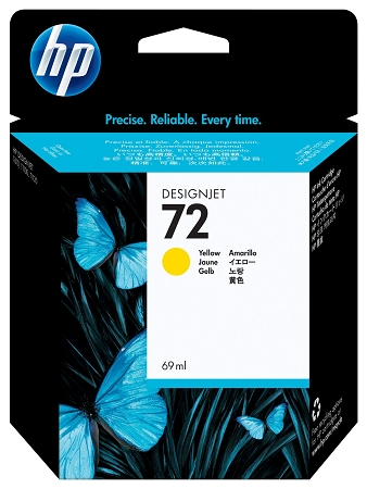 HP 72 (C9400A) Yellow Original...