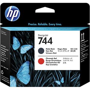 HP 744 (F9J88A) Matte Black/Chromatic...