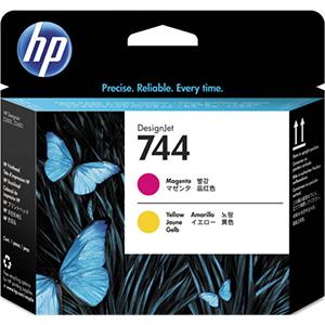 HP 744 (F9J87A) Magenta/Yellow...
