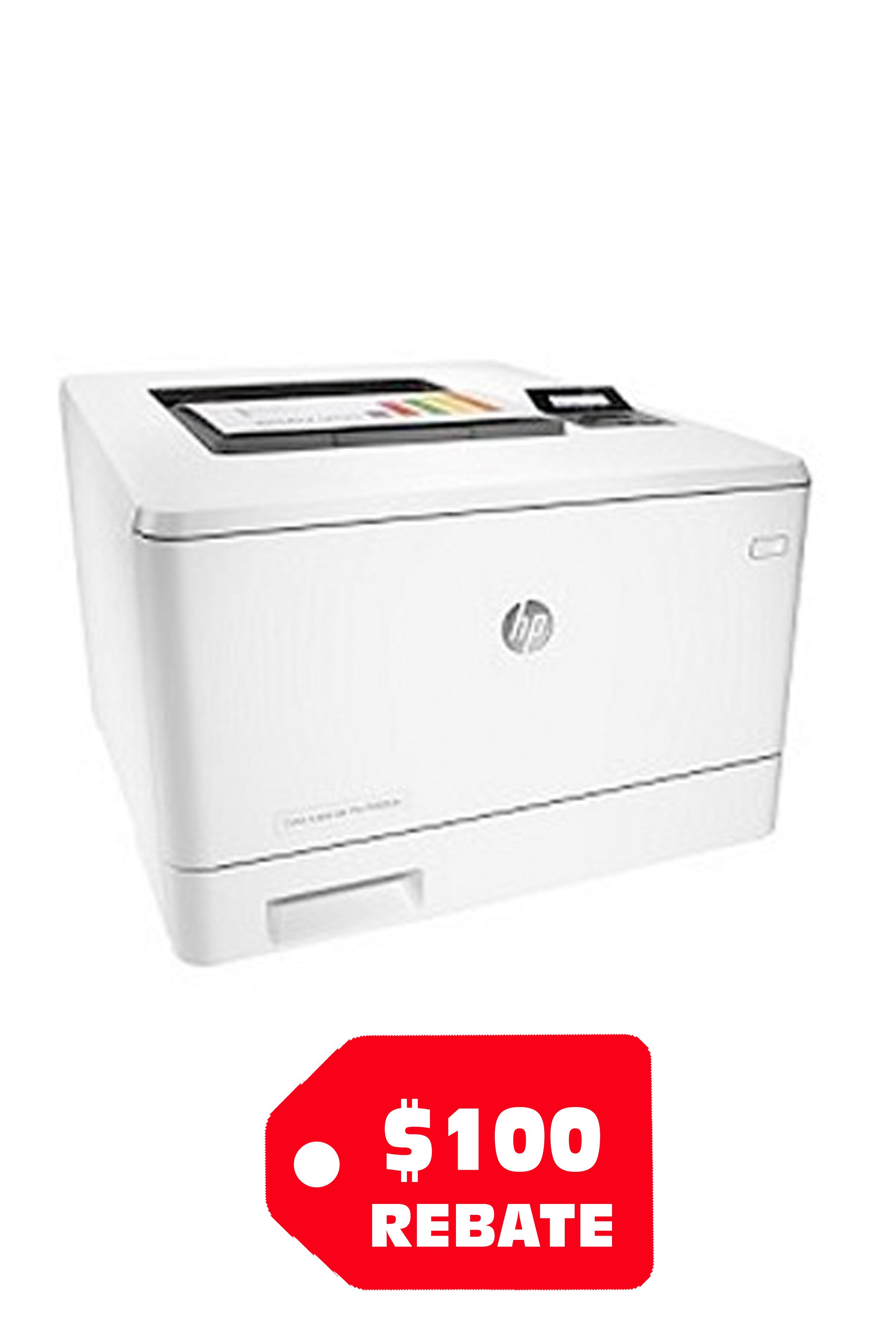 HP Color LaserJet Pro M452dn...