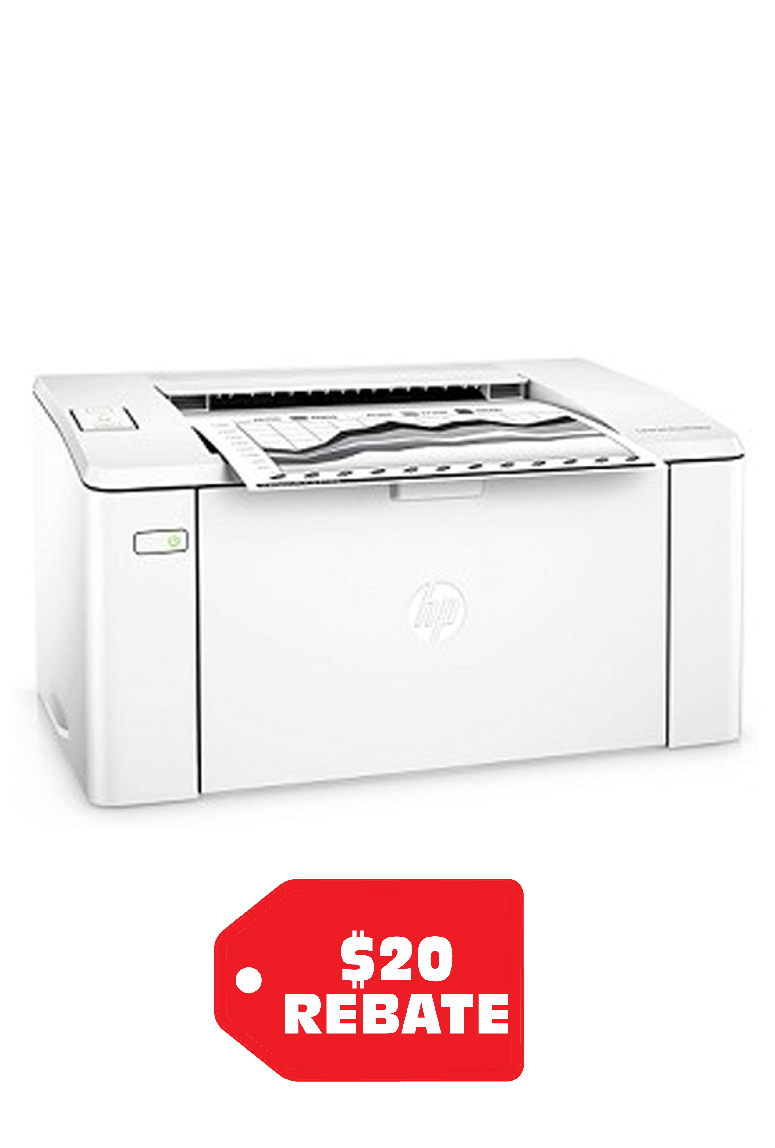 HP Laserjet Pro M102w 23ppm...