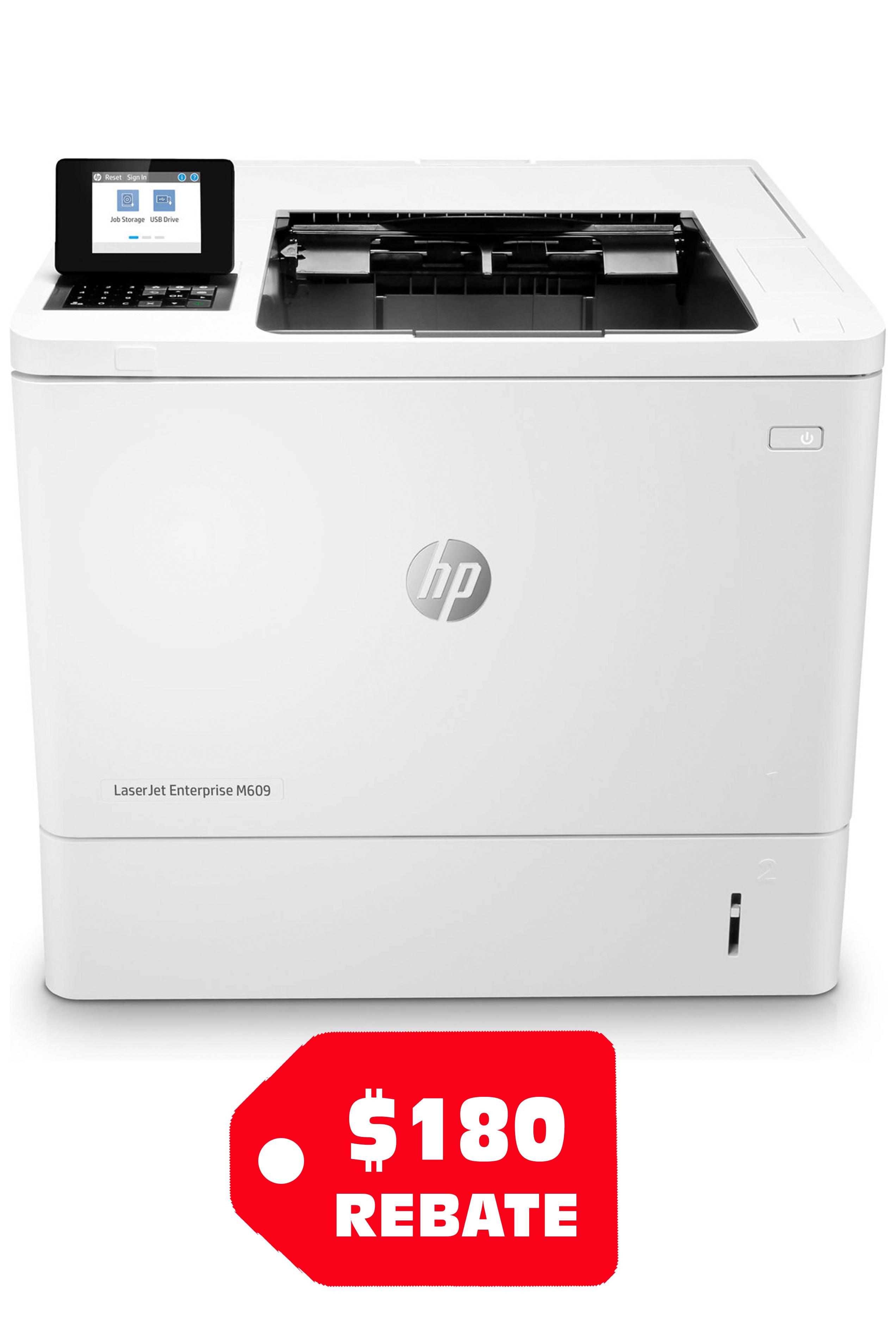 HP LaserJet Enterprise M607DN...