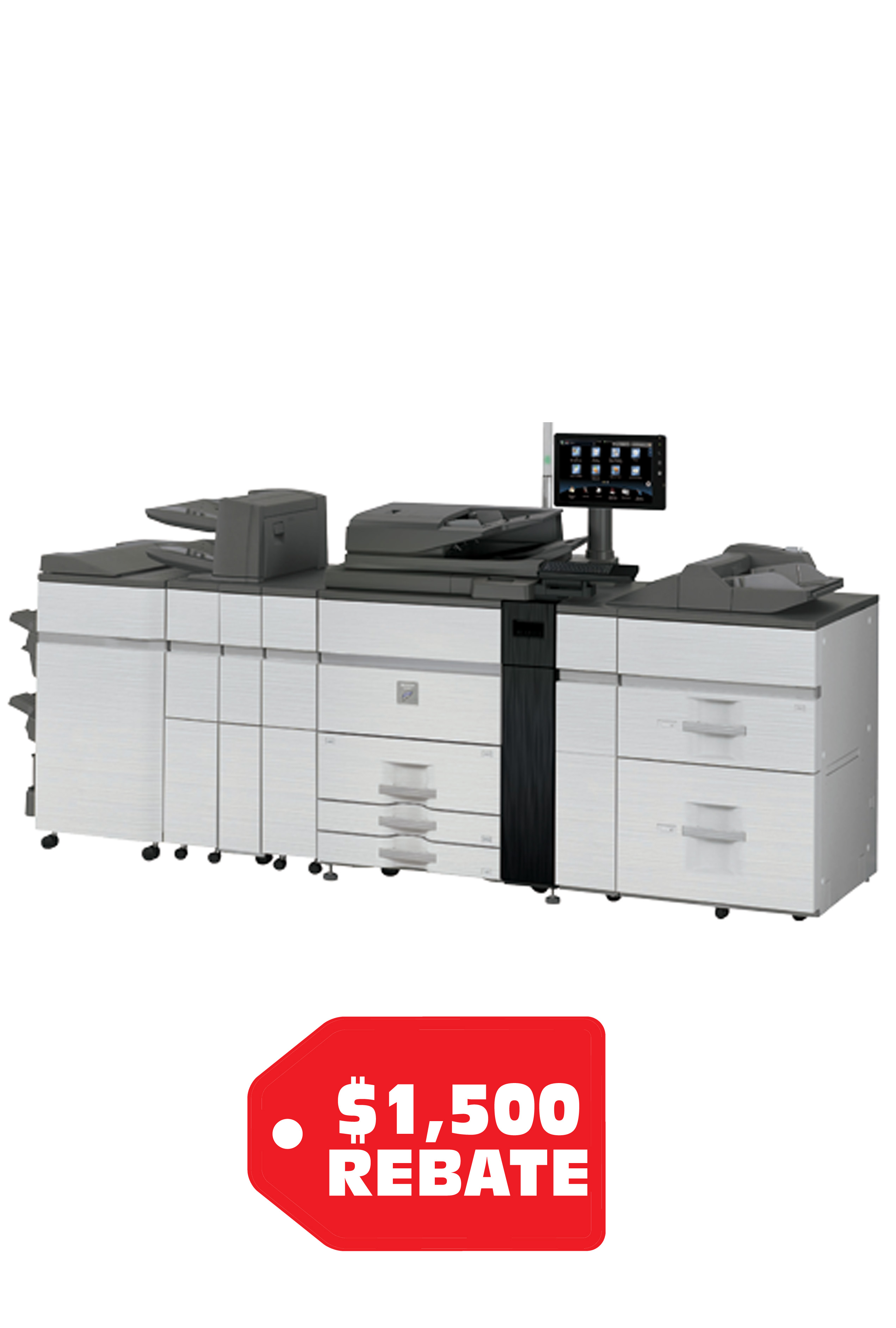 Sharp MX-M1205 Monochrome Document System (120ppm)