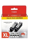 Canon PGI-270XL Black Twin Value Pack (0319C005)
