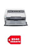 Canon imageFORMULA DR-6030C Office Document Scanner (80 ppm / 160 ipm)