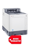 Kyocera ECOSYS P6235cdn A4 Color Printer (37ppm)