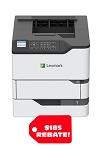 LEXMARK B2865dw MONO LASER PRINTER (61ppm)