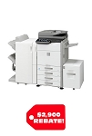 Sharp MX-M365N+MX-DE20 Console Monochrome Multifunction Laser Copier (36ppm)