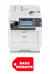 Okidata MB562w MFP Wireless Standard (47ppm)