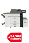 Sharp MX-M905 Monochrome Document System (90ppm)