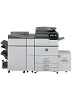 Sharp MX-M754N Console Monochrome Multifunction Laser Copier (75ppm)