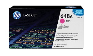 HP 648A (CE263A) Magenta Original LaserJet Toner Cartridge (11000 Yield)  (CE263A)