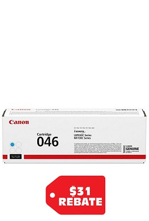 Canon Cartridge-046 Cyan Low Yield (1253C001AA)