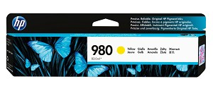 HP 980 (D8J09A) Yellow Original Ink Cartridge (6600 Yield) (D8J09A)