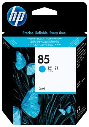 HP 85 (C9425A) Cyan Original Ink Cartridge (28 ml) (C9425A)