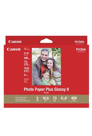 "Canon Photo Paper Plus Glossy II 4"" x 6' 400 Sheets (2311B031)"
