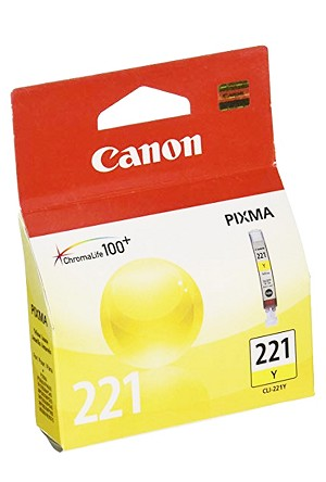 Canon CLI-221 Yellow Ink Tank (2949B001)