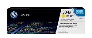 HP 304A (CC532AG) Yellow Original LaserJet Toner Cartridge for US Government (2800 Yield) (CC532AGOV)
