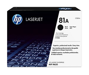 HP 81A (CF281A) Black Original LaserJet Toner Cartridge (10500 Yield)  (CF281A)