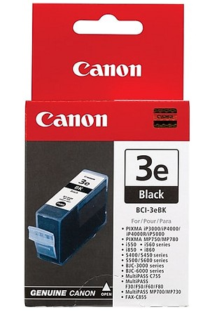Canon BCI-3e Photo Black Ink Tank (4485A003)
