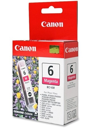 Canon BCI-6 Magenta Ink Tank (4707A003)