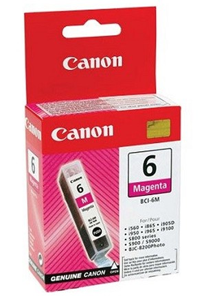 Canon BCI-6 Photo Magenta Ink Tank (4710A003)