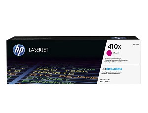 HP 410X (CF413X) High Yield Magenta Original LaserJet Toner Cartridge (5000 Yield) (CF413X)
