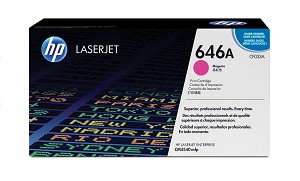 HP 646A (CF033A) Color LaserJet CM4540 MFP Magenta Original LaserJet Toner Cartridge (12500 Yield)  (CF033A)