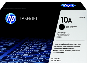HP 10A (Q2610A) LaserJet 2300 Black Original LaserJet Toner Cartridge (6000 Yield)  (Q2610A)