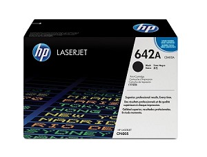 HP 642A (CB400A) Black Original LaserJet Toner Cartridge (7500 Yield) (CB400A)