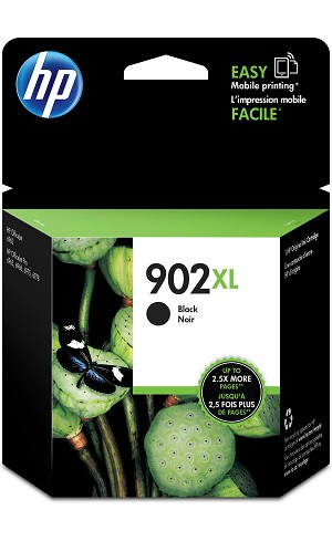 HP 902XL (T6M14AN) Black Original Ink Cartridge (825 Yield) (T6M14AN)
