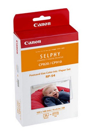 Canon Ink/ Paper Set RP-54, 54 Sheets (8567B001)