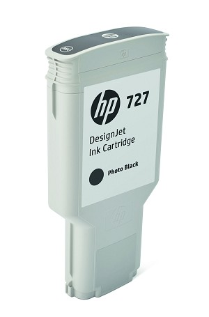 HP 727 (F9J79A) Photo Black Original Ink Cartridge (300 ml) (F9J79A)