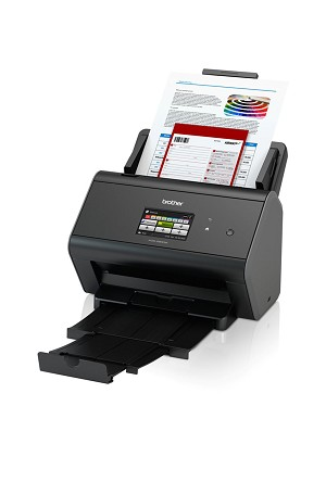 Brother ADS-2800W Wireless Document Scanner (30ppm/60ipm)