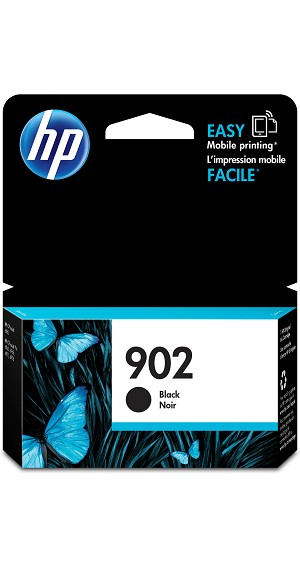 HP 902 (T6L98AN) Black Original Ink Cartridge (300 Yield) (T6L98AN)