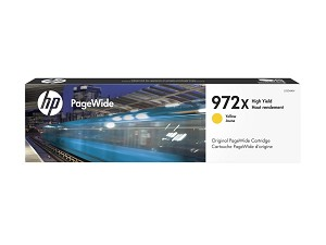 HP 972X (L0S04AN) High Yield Yellow Original PageWide Cartridge (7000 Yield) (L0S04AN)