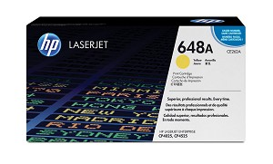 HP 648A (CE262AG) Yellow Original LaserJet Toner Cartridge for US Government (11000 Yield)  (CE262AGOV)