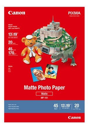 "Canon Matte Photo Paper Sheets 13""X19"" 20 Sheets (7981A011)"