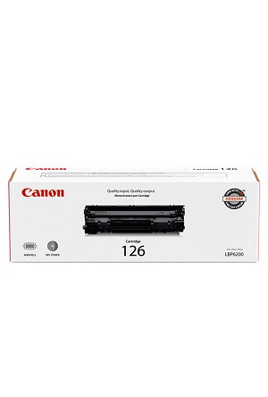 Canon 126 Black Toner Cartridge (2.1K)  (3483B001AA)