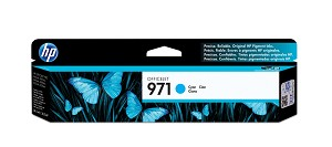 HP 971 (CN622AM) Cyan Original Ink Cartridge (2500 Yield) (CN622AM)